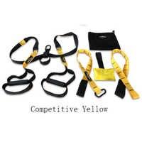 Correa para entrenamiento colgante bandas de resistencia bandas de Fitness cinturón colgante resistencia a la tensión tira de la cuerda entrenamiento ejercitador hogar TXR