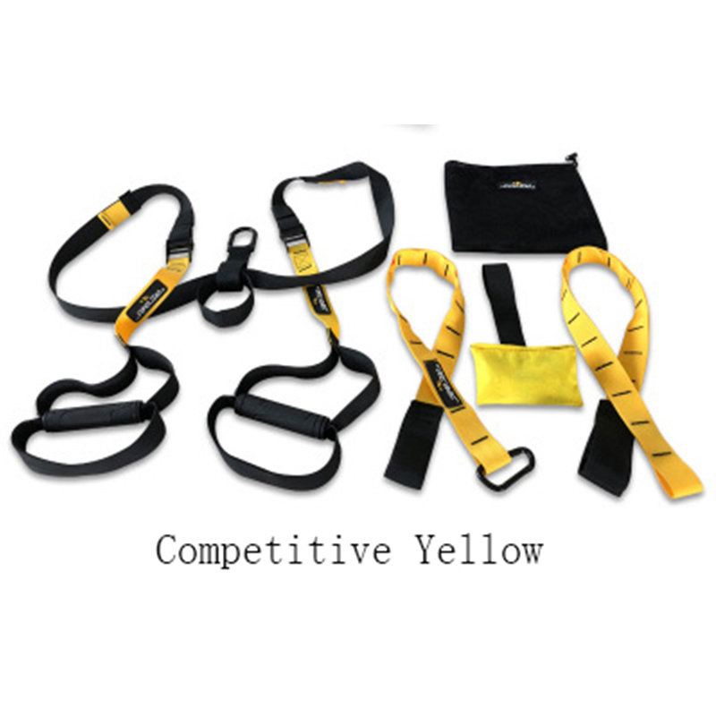 Hanging Training Strap Resistance Bands Fitness Bands Hanging Belt Tension Resistance Pull Rope Home Exerciser Training TXR