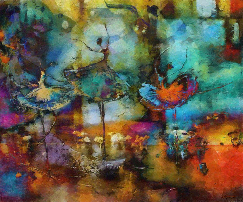Medeiros Oil Painting