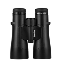 Super ED Binocular Telescope 10X50 Eyeskey 12x50ED Black HD Nitrogen Waterproof Binoculars Handheld Outdoor Camping Hunting Tool