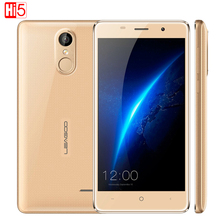 Оригинал Leagoo M5 Противоударный Мобильный Телефон Android 6.0 5 »MTK6580 Quad Core 2 ГБ + 16 ГБ Dual Sim GPS Отпечатков Пальцев 3 Г Смартфон