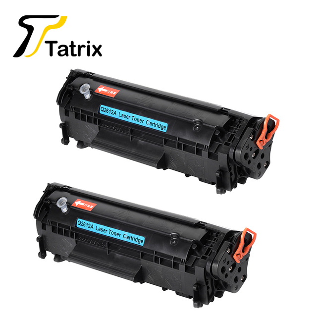 12A For HP 2612A Refillable Compatible Toner Cartridge For HP HP LaserJet 1010 1012 1015 1018 1022 1022N 1020 3015MFP Printer 2