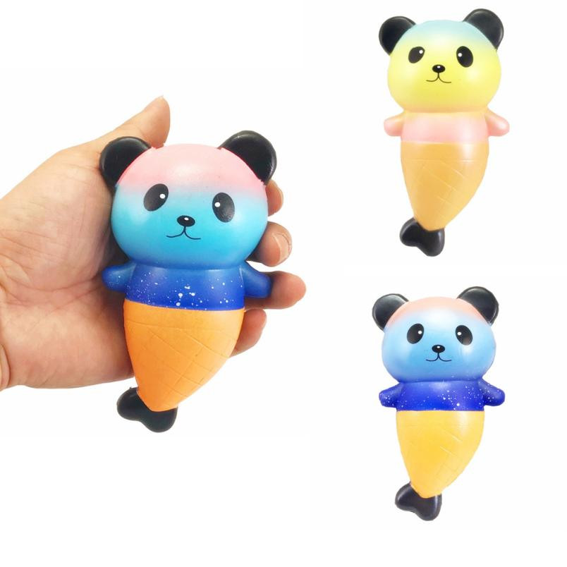squeeze squishe Squishy Panda kids toys Fish Scented Slow Rising Collection Stress Reliever funny 2MAYT29