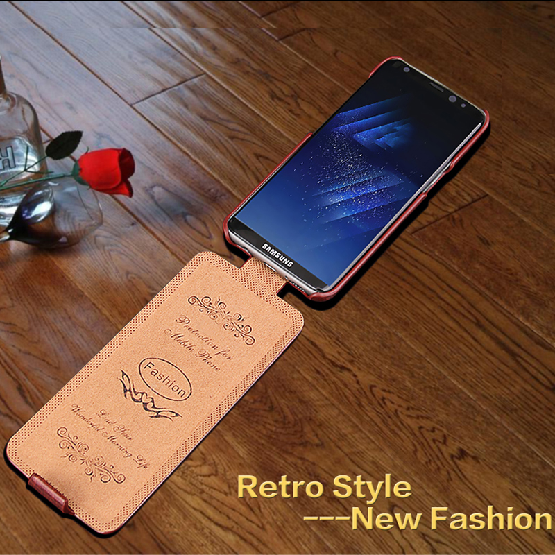 For samsung S10/ s8plus flip <font><b>case</b></font> Classic Vertical pu <font><b>Leather</b></font> <font><b>Case</b></font> For Samsung <font><b>Galaxy</b></font> <font><b>s9</b></font> / note 8 /s8 plus Cover Coque fundas image