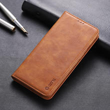 For Oneplus 7 Case Luxury Leather Wallet Flip Case Oneplus 7 Pro Cover With Card Slot Magnetic Case Vintage Phone Bags