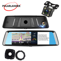 A8 7 DVR 4G Android GPS Bluetooth Touch Screen G SENSOR MP5/MP4/RMVB/Flash WiFi Camera Video Drive Recorder Rearview Mirror