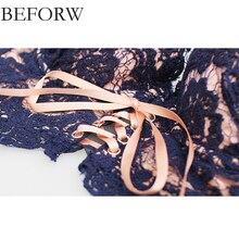 BEFORW Flower Lingerie Bra Set