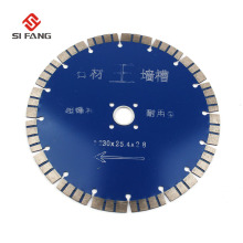 цена на 9''Inch 230mm Dia Diamond Saw Blade U Tooth Dry Cutting Diamond Wheel Disc Stone