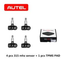 AUTEL MX-Sensor 2 in 1 433 315 Mhz TPMS PAD Tire Pressure Mo