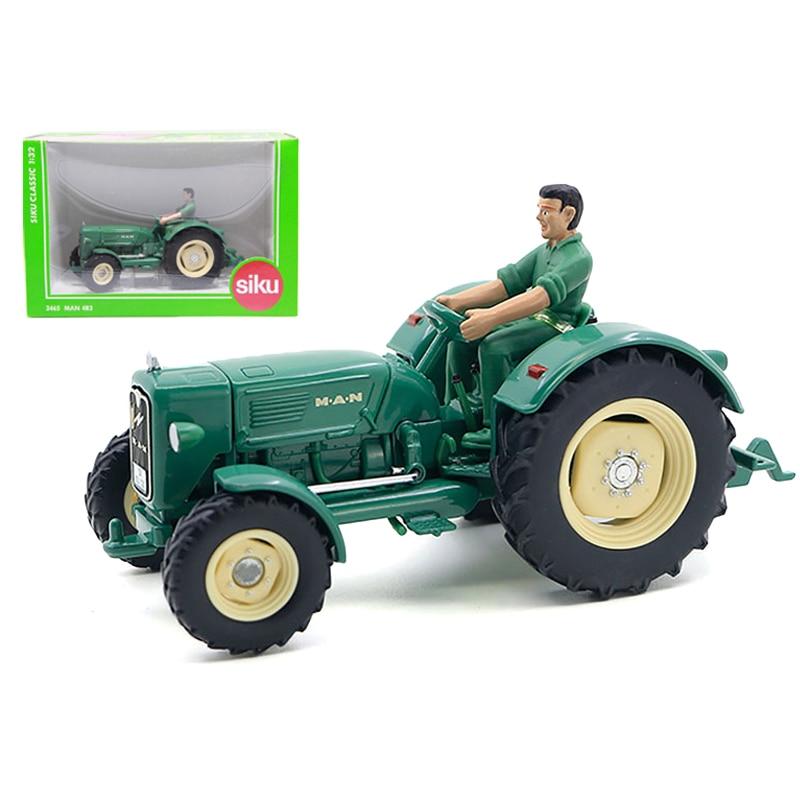 SIKU Simulation tracteur camion jouet alliage Agriculture ferme camions modèle ingénierie voiture enfants jouets cadeaudiecast metaltruck toycar toy -