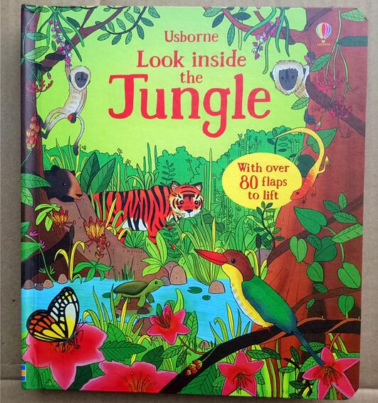 britain english 3d usborne look inside the jungle picture book rh aliexpress com