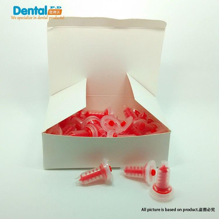 Купить с кэшбэком 250pcs/lot Dental Impression Mixing Tips Dynamic Mixing tip
