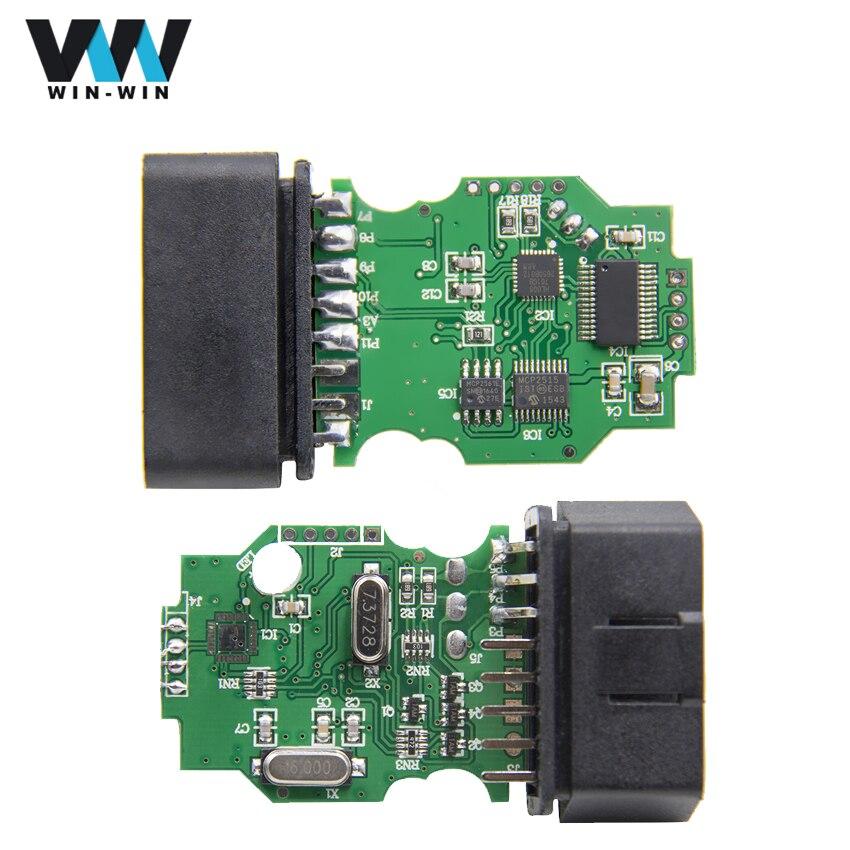 Prix pour Date VAG OBD OBD2 Câble De Diagnostic Avec FT232RL Chip Vag Peut Com USB Interface Travail pour VW/Audi/siège/Skoda Allemand/Anglais