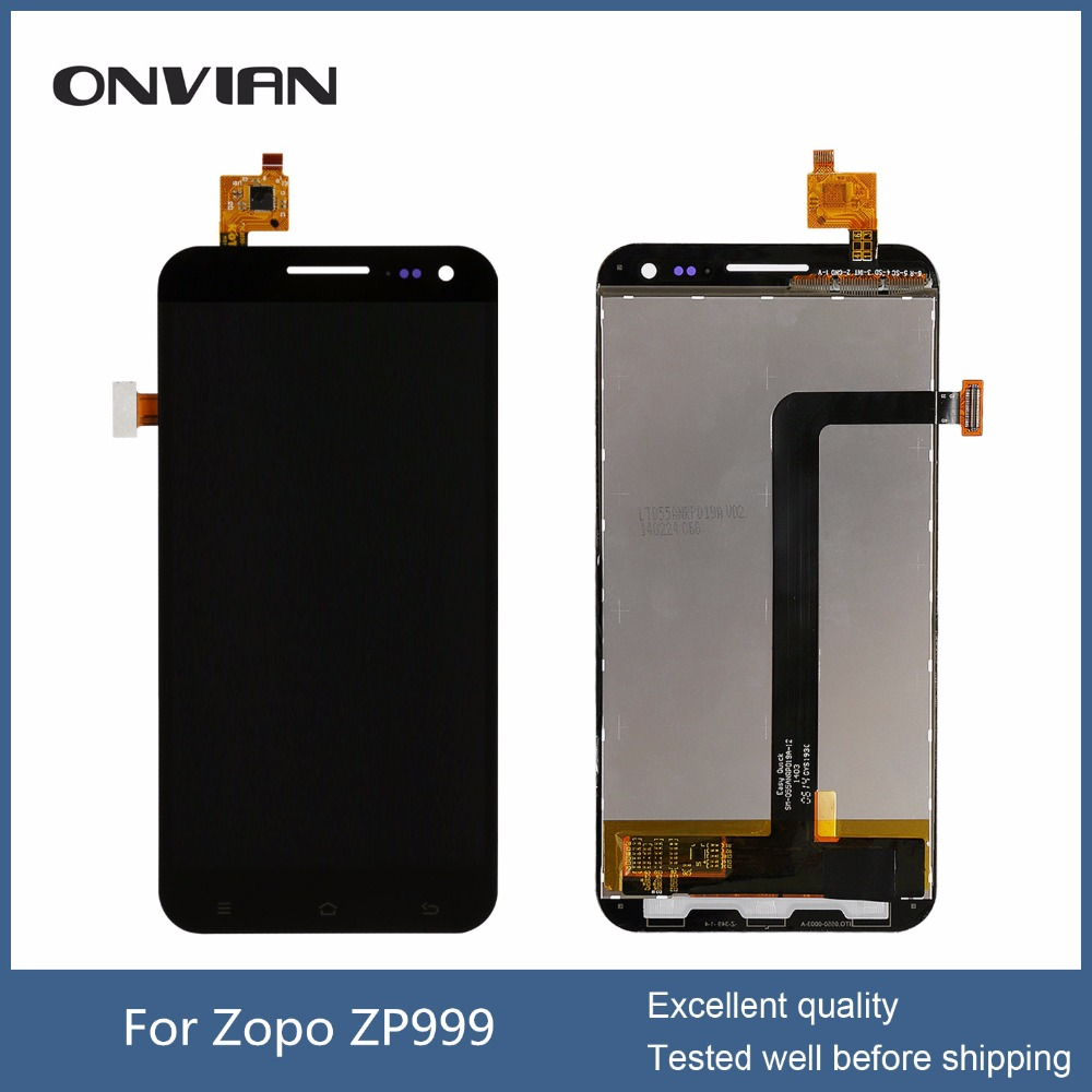 5.5 FOR zopo ZP999 3x LCD Display + Digitizer touch Screen Assembly 1920x1080P cable NO.SM-055APKP099A-11