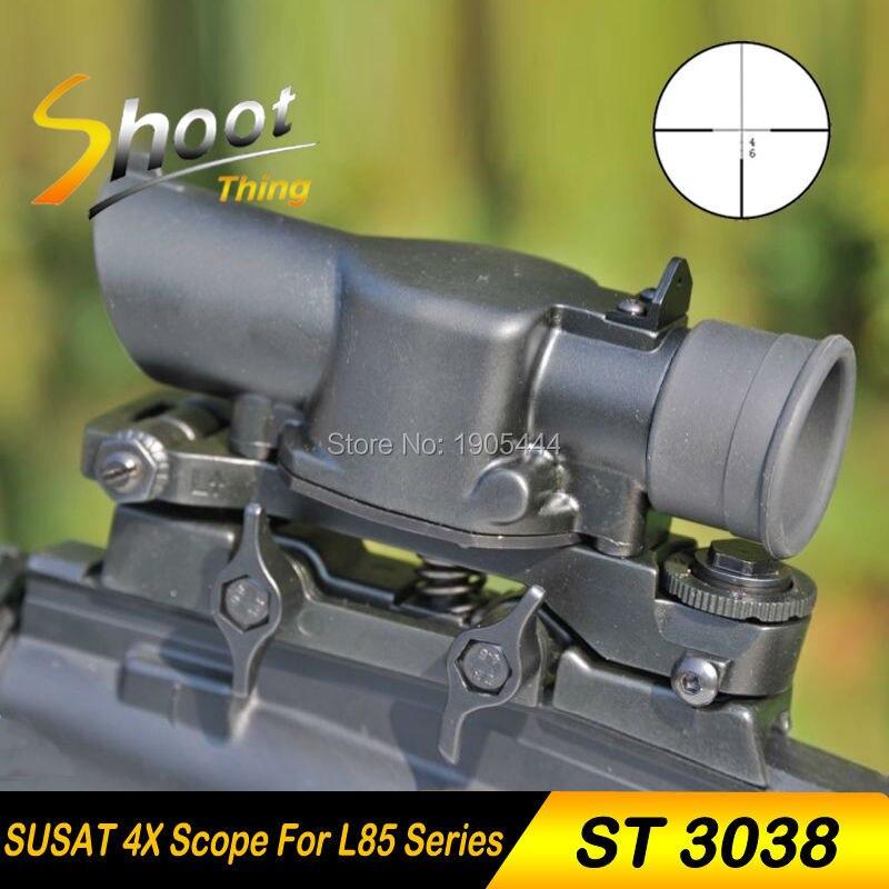 ST3038 съемок XWXS Л85 СУСАТ Утюг 4x32 стиль оптический прицел винтовка, дробовик прицел быстрый снимите для airsoft Уивер Гора