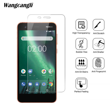 Tempered glass For Nokia 3.1 screen protector 2.5D phone protection flim 0.3mm Ultra-thin screen protection glass wangcangli