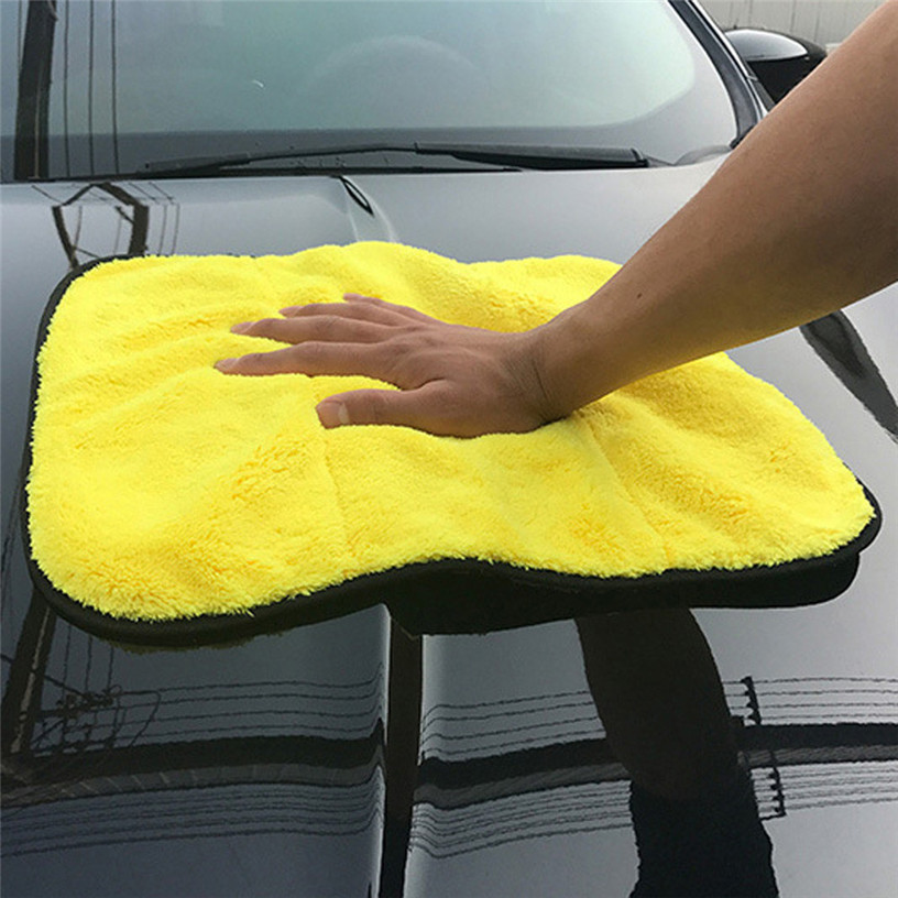 Dropship Hot Selling Super Thick Plush Microfiber Car Cleaning Cloths Car Care Microfibre Wax Polishing Detailing Towels Jul 7