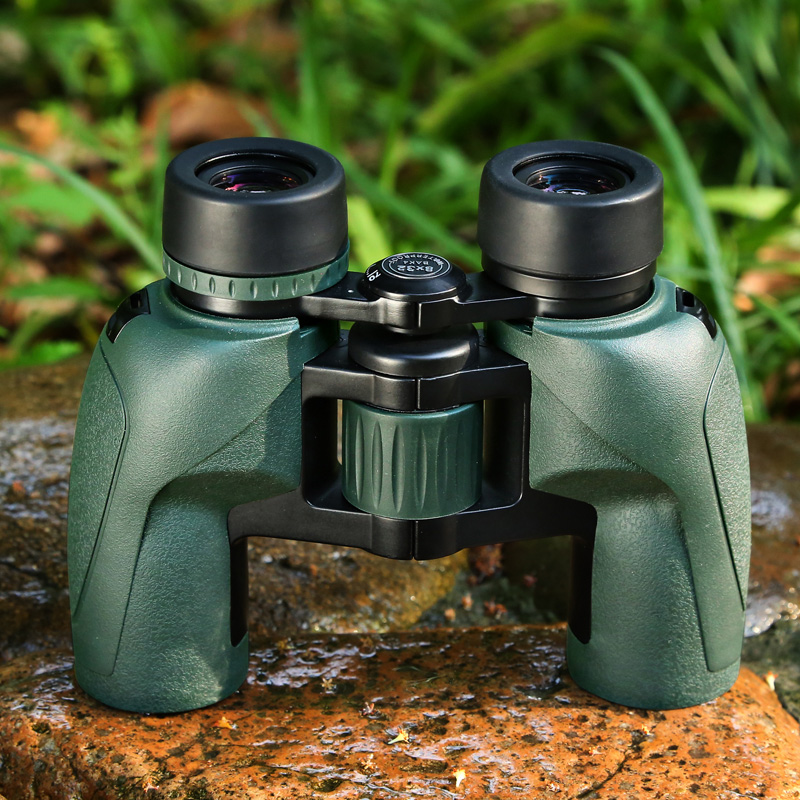 fast shipping Eyeskey Binoculars 8x32 Porro Waterproof telescope Bak4 Prism Optics Compact Telescope for Camping Hunting sika hd10x50 binoculars professional compact telescope bak4 for birdwatching travel stargazing hunting camping m0054