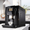 Four languages Commerical Fully Automatic coffee machine LCD espresso coffee machine&coffee grinder 19 bar cappuccino maker 220v