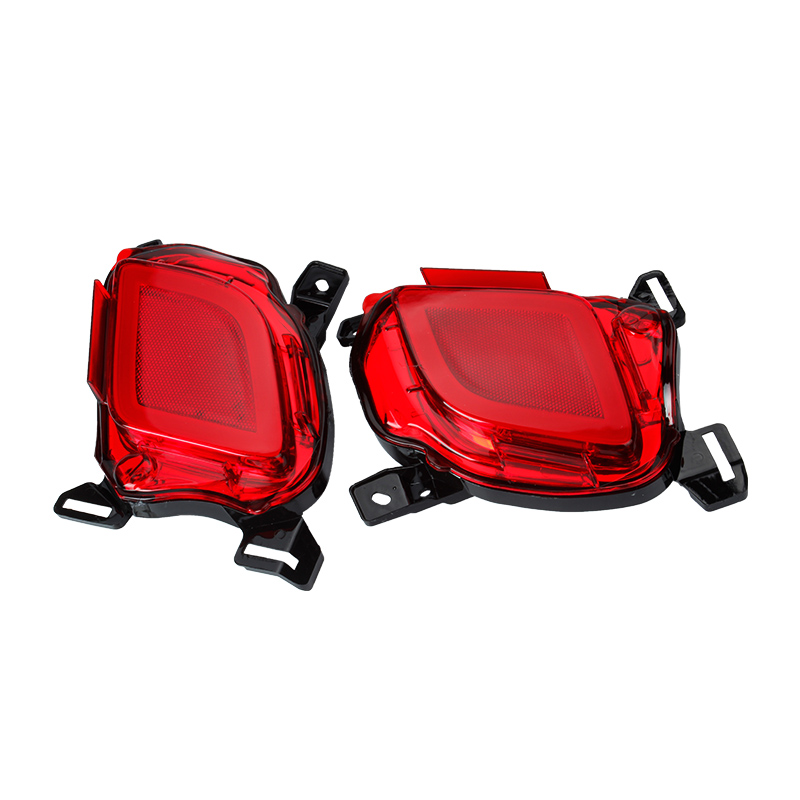 Okeen 2 pcs LED car stying Rear Bumper Reflector Light tail brake stop light  for 2015 highlander
