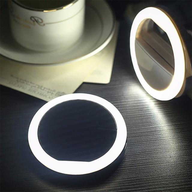 Portable Universal Mobile Phone Selfie Light Clip On Design Luminous Lamp  LED Flash Light Phone