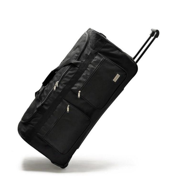 """Conte de voyage 32 """"40"""" pouces Super grand bagage roulant grand chariot sac de voyage toile hauteur 100cm"""