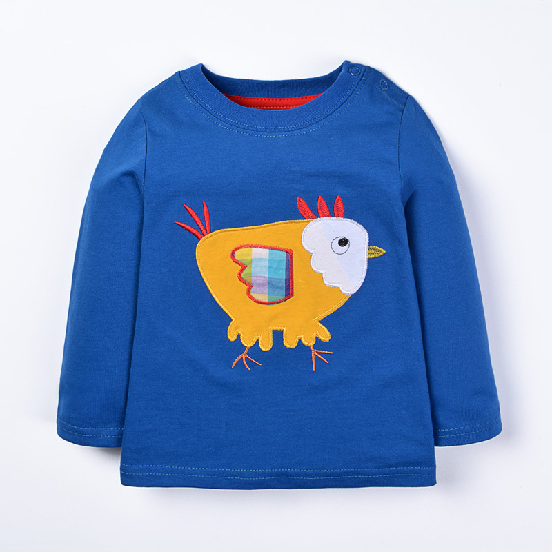 Kids spring autumn winter t shirts baby boys long sleeve cartoon clothing with printed a chicken boys new designed t shirt new boys t shirt spring long sleeve cotton kids t shirts scrawl printed autumn baby toddler boys t shirt tops children clothing
