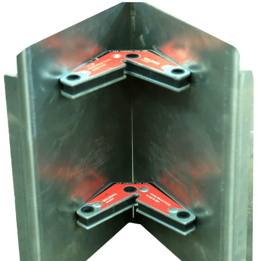 Strong NdFeB Magnetic Welding Corner Holder Magnet Neodymium Permanent Rare Earth Magnets 2pcs per pack Save Human Effort