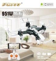 F17860 61 FQ777 951W WIFI Mini Pocket Drone FPV 4CH 6 Axis Gyro Quadcopter With 30W