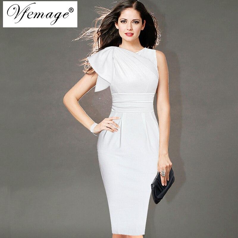 Женское платье Vfemage ruched