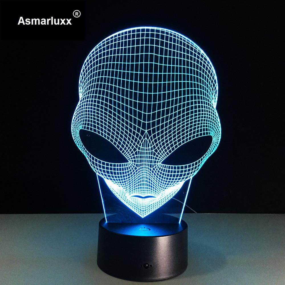 Asmarluxx 3d led lamp9011