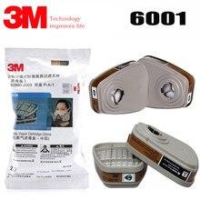 Cartouche filtrante respirateur à vapeur organique 3M, 1 paire/2 paires/5 paires/9 paires, pour masque à gaz 3M 6001 7502 6200 6800