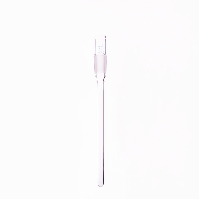Joint Tube Used On Thermometer Standard Ground Mouth 24/40,Tube Length 100mm/120mm/140mm/180mm/200mm/240mm,Catheter,Connector