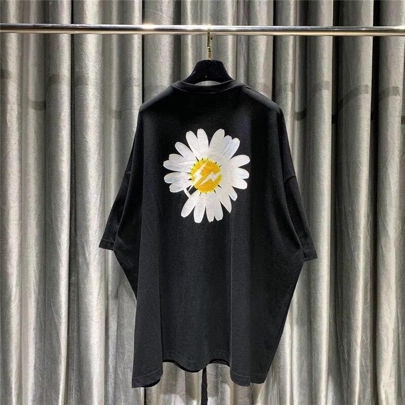 New Peaceminusone FRAGMENT DESIGN Men Women 1:1 Best Quality Top Tees Oversize Tshirt Black Summer Style T-Shirts