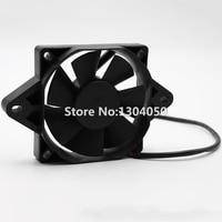 Black 12 Volt Electric Engine Cooling Fan Radiator For HONDA SUZUKI KAWASAKI Motorcycle ATV MX New