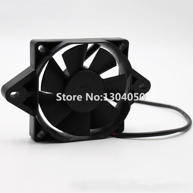 Black 12 Volt Electric Engine Cooling Fan Radiator Motorcycle Atv Mx New