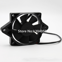Black 12 Volt Electric Engine Cooling Fan Radiator For HONDA SUZUKI KAWASAKI Motorcycle ATV MX New