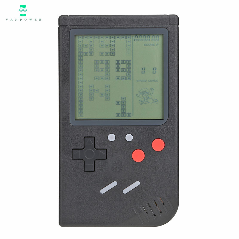 vanpower new Handheld Game Console Build-in 26 classic games Classic Tetris Games Mini Handheld Game Players for boy