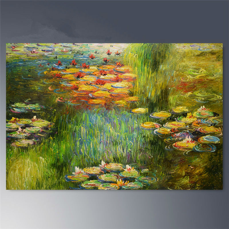 Online Buy Wholesale Monet Flower Paintings From China