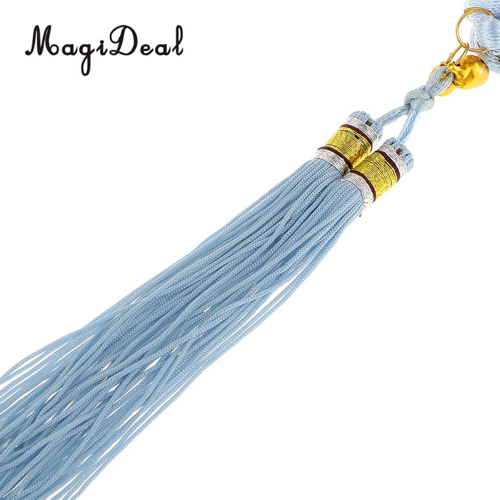 MagiDeal New Light Blue Chinese Lucky Ball Chinese Knot With Tassel ...