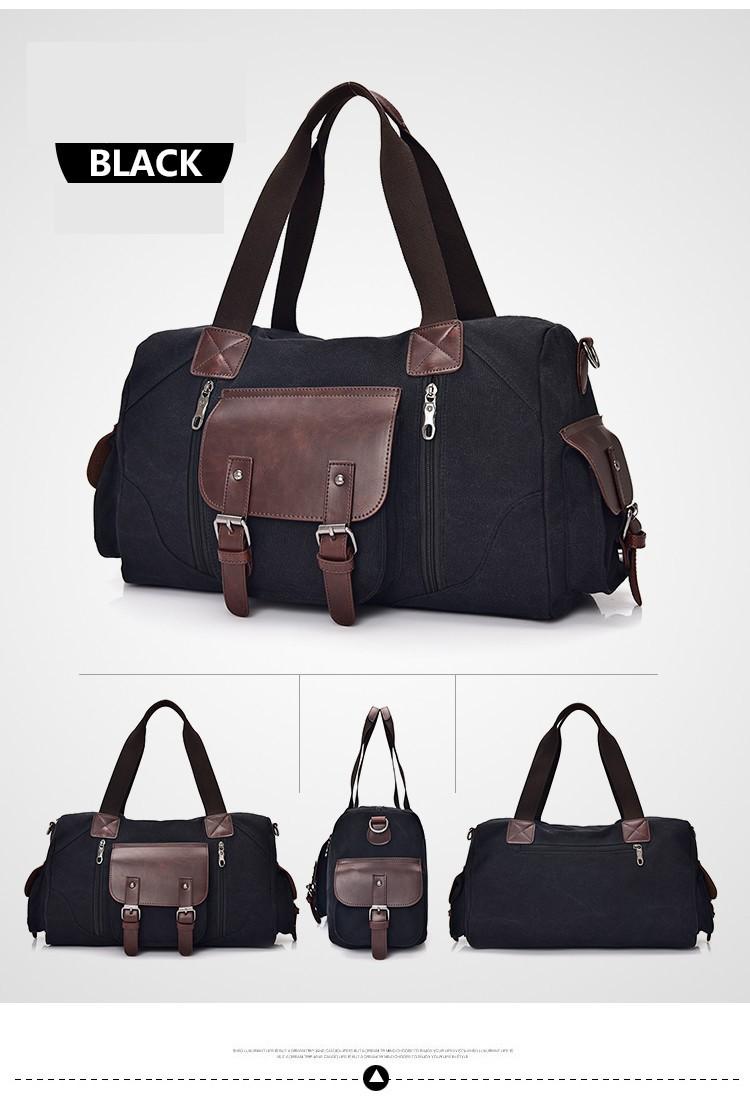 men canvas travel handbag (1)