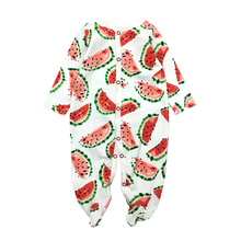 Fashion Cotton baby rompers newborn girl clothes Long Sleeve