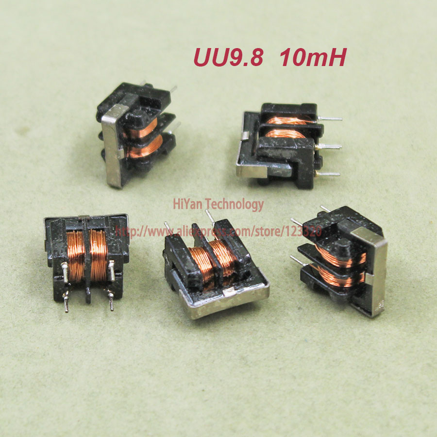 Hot Sale 50pcs Lot Uu98 10mh Common Mode Choke Inductor For Coil Tv And Camera Buy Power Coilinductor Filter