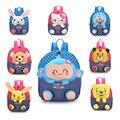 Children Plush Backpacks Kindergarten Mini 2016 New School Bags for Kids Boys Girls Anime Animal Baby Small Hello Kitty Backpack