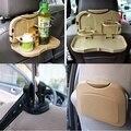 Sostenedor de taza del coche bebida coche plegable titular escombros mesa de suministros de automoción coche del asiento del estante estante en asientos del contenido del almacén arca