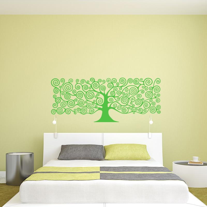 Art Decor Tree of Life wall sticker 3D Vinyl Plant Headboards DIY ...