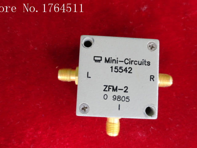 [BELLA] Mini ZFM-2 RF/LO:1-1000MHz RF RF Coaxial Double Balanced Mixer