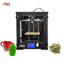 Anet A3S Metal Casing Stampante 3d Alta Precisione 0.1mm Layer Resolution Single Color Home 3d Printer 16GB SD Card for Gift