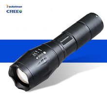 E17 Led flashlight 3800 lumens XML-t6 led Torch Zoomable LED Flashlight Torch Linternas lampe torche For Camp