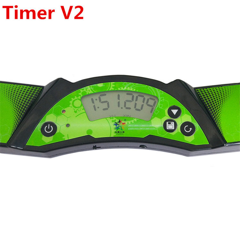 Image 3 - Yuxin speed cube timer v2 high speed timer professional clock machine for magic cube sport stacking for competition-in Magic Cubes from Toys & Hobbies